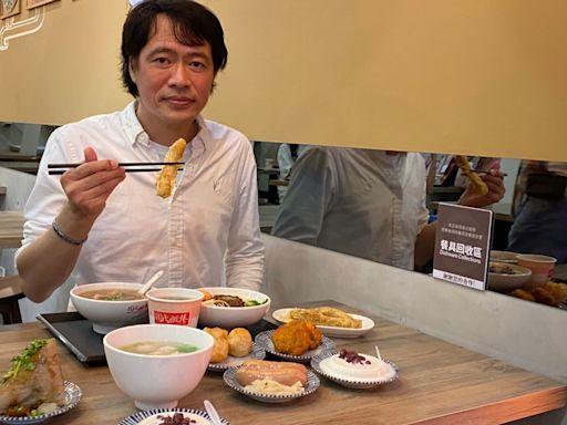 「周氏蝦捲」插旗台中美食一級戰區