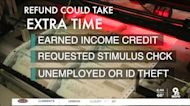 Millions of tax refunds are delayed