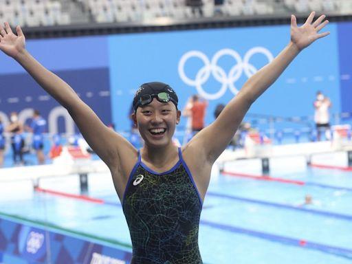 全運會游泳400自接力 北市女子隊破全國