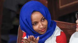 Omar's edgy Israel tweet no surprise to some back home