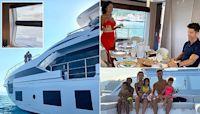 Ronaldo celebrates winning Serie A by splashing £5.5m on amazing yacht
