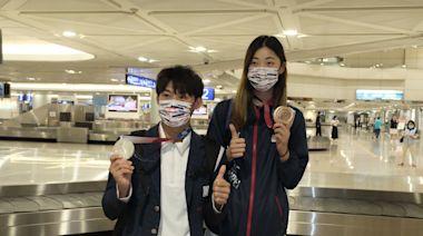 東京奧運18名國手榮耀返台! 陳時中:完整接種2劑疫苗入境免檢疫