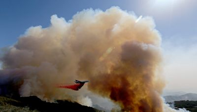Sundowner winds stymie fire crews as Alisal fire grows to more than 15,000 acres