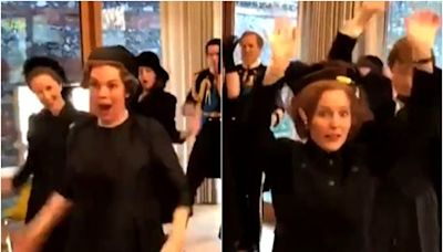 The Crown cast filmed dancing to Lizzo's 'Good as Hell' in costume during funeral scene
