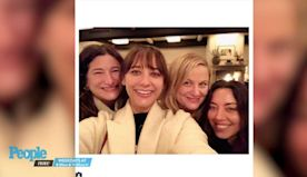 Aubrey Plaza Reunites with Parks and Recreation Costars to Celebrates Galentine's Day