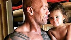 """Dwayne """"The Rock"""" Johnson's Birthday Tribute to His Daughter Will Give You All the Feels"""