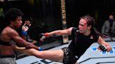 Michelle Waterson ekes out split decision win vs. Angela Hill at UFC Vegas 10