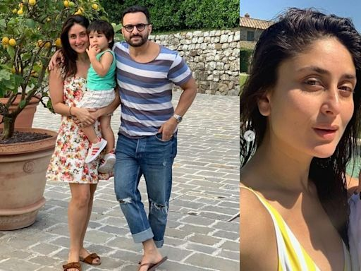 Kareena Kapoor Khan And Saif Ali Khan Whisk Away Taimur For A Tuscan Rendezvous And The Pictures Are Fabulous!