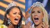 Photos of the exact moment 36 contestants found out they won Miss USA