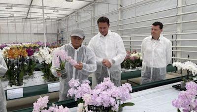 【馬雲現身】馬雲歐遊到埗下一站 正在荷蘭考察溫室農業 - 香港經濟日報 - 即時新聞頻道 - App專區