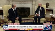 Biden meets with Israeli prime minister following deadly Kabul attack