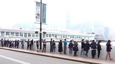 變種病毒患者曾到訪海港城 商場外現檢測人龍