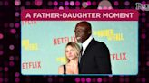 Leni Klum Makes Rare Red Carpet Appearance with Dad Seal at Netflix's The Harder They Fall Premiere