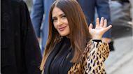 Salma Hayek Explains Why Angelina Jolie SMASHED Her Face Into Cake