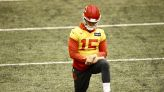 Chiefs QB Patrick Mahomes thinks his toe injury is 'ahead of schedule'