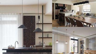 餐廚型態百百種該如何設計?解析3大開放式廚房的設計巧思