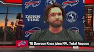Dawson Knox explains how Travis Kelce has inspired him as tight end