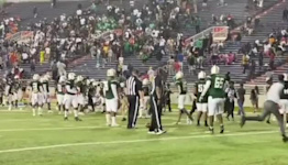 Spectators and Players Scatter After Shooting at High School Football Game in Alabama