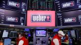 Outdoor grills maker Weber valued at nearly $5 billion in debut as shares rise