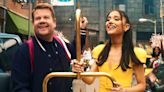 Ariana Grande and James Corden Celebrate 'No Lockdowns Anymore' in Epic Hairspray -Inspired Skit