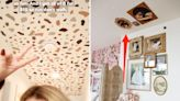The best DIY hacks for renter-friendly wall art we've seen from TikTokers and interior designers