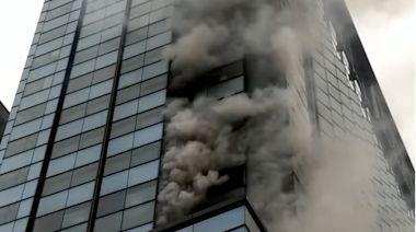 京站大樓火警 君品酒店雲軒西餐廳暫停營業