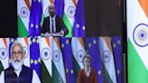 India's PM will meet with leaders of all 27 EU countries to talk about … trade?
