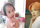 柳真二女兒在家模仿防彈少年團Jimin舞姿:「最愛BTS《Boy with Luv》!」