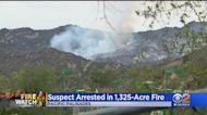 Suspect Arrested In Palisades Fire; Evacuation Orders Lifted As Containment Grows