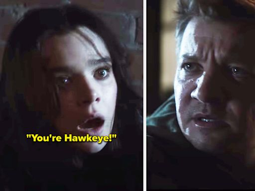 """Marvel Just Released The First """"Hawkeye"""" Trailer, And We See Clint Barton Perfectly Meet Kate Bishop"""