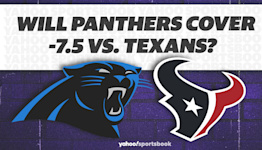 Betting: Will Panthers cover -7.5 vs. Texans?