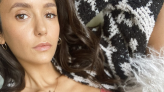 Nina Dobrev wears pink bra in sultry selfie (for a good cause)