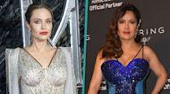Why Angelina Jolie Shoved 'Eternals' Costar Salma Hayek's Face Into Birthday Cake