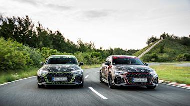 Audi RS 3 輕偽裝揭密 將首度搭載 RS 扭力分配系統