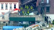 Two workers rescued from construction site collapse in Brooklyn