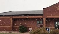 'Golf Ball' Snowflakes Flutter Across Southeastern Wyoming
