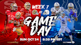 Colts vs. 49ers: How to watch, listen, stream online in Week 7