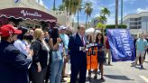 Supporting Cuban Protests While Criticizing Biden — Rudy Giuliani's Brief Miami Appearance