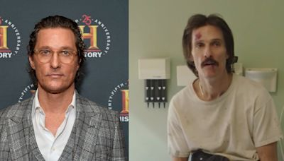Matthew McConaughey said he lost 50 pounds for 'Dallas Buyers Club' on a diet of fish, tapioca pudding, and 'as much wine as I wanted to drink'