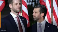 Don Jr. and Eric Trump attack 2024 GOP hopefuls on Twitter, demanding them to take action to defend the president