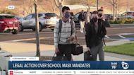 Legal action over California's school mask mandates