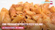 Come preparare un perfetto pesto siciliano