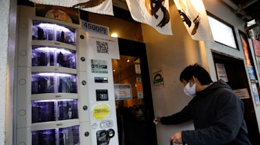 「新冠試劑販賣機」矗立東京 一劑只要台幣1200元