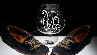 Sir Winston Churchill's slippers and brandy glass to go under the hammer