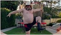 Jack Black Tik Tok Song: His Shirtless Cowboy Dance Video