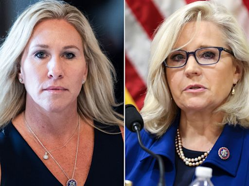 'She Started Screaming': Controversial Rep. Marjorie Taylor Greene Spars with Liz Cheney on House Floor