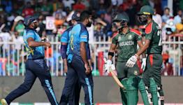 Asalanka, birthday boy Rajapaksa star as Sri Lanka hammer home title hopes