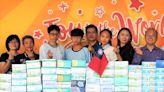 美疫情嚴峻口罩像黃金一樣貴!輔仁中學捐1.4萬片口罩