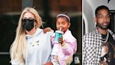 Khloé Kardashian Picks Up Daughter True From Dance Class As Ex Tristan Thompson Tries To Get His Family...