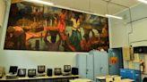 La escuela-museo que donó Quinquela Martín y que hoy recupera el color de sus murales